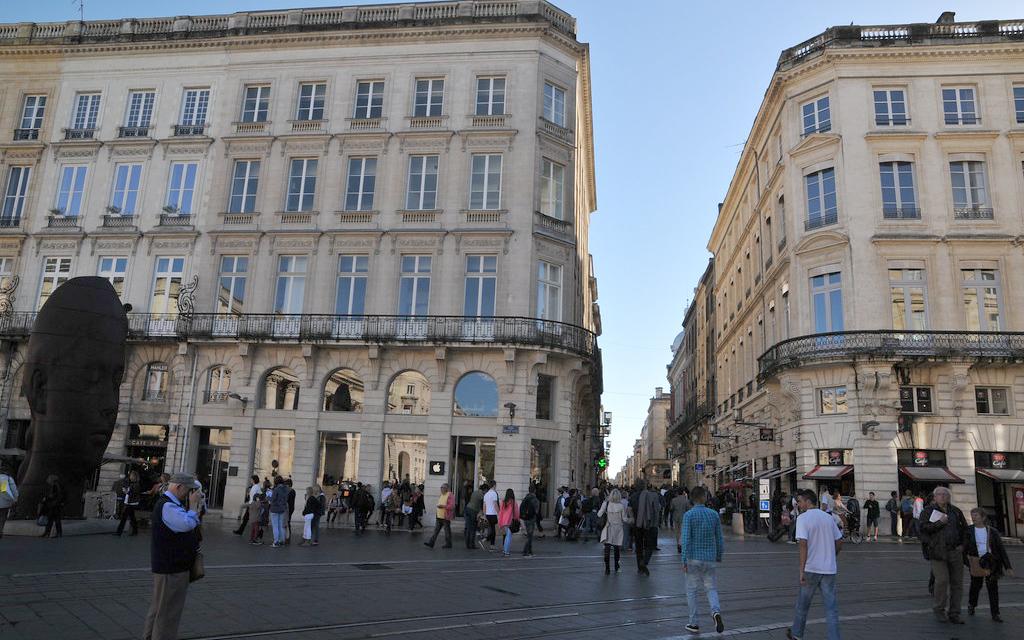 Triangle d'or à Bordeaux